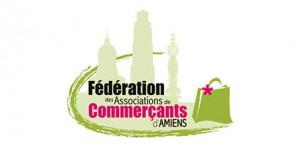 Logo Fédération des Associations de commercants d'Amiens