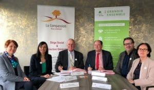 Partenariat SA HLM de l'Oise et La Compassion
