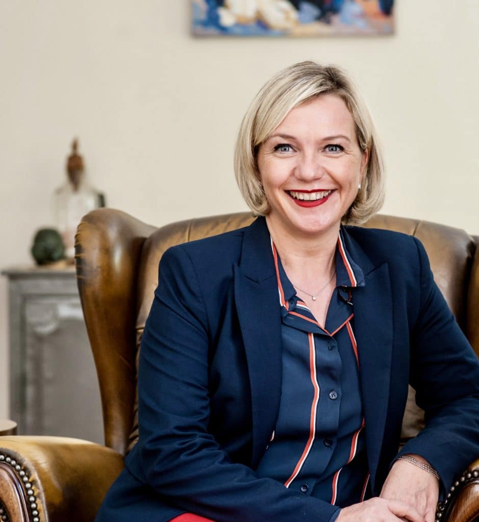 Ingrid Genillon, Présidente du CJD International