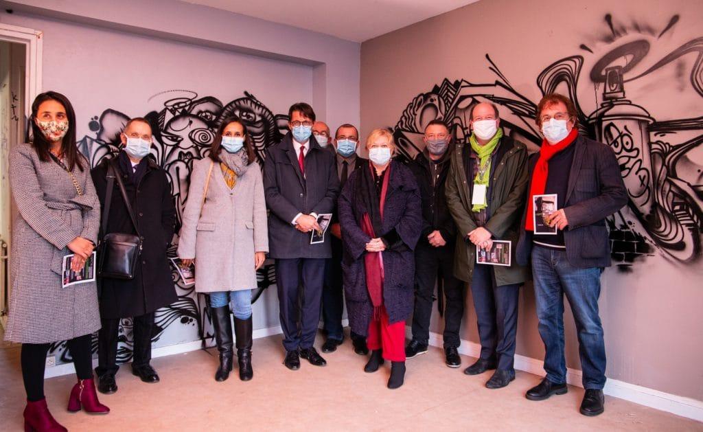Exposition éphémère Graffik'31 Des logements de la S.A. HLM de l'Oise transformés en  terrain d'expression pour les jeunes du quartier