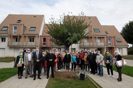 44 logements économes en énergie à Crèvecoeur