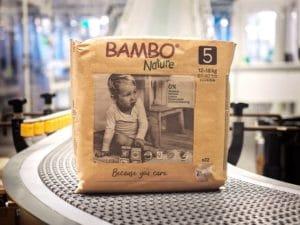 Abena Frantex, entreprise familiale spécialiste de l'usage unique en France, annonce la conception d'un emballage 100% papier pour ses couches bébé éco-conçues BAMBO® Nature.